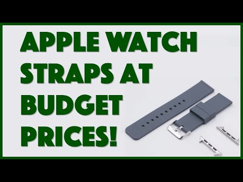 apple watch straps on a budget