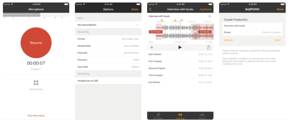 How To Record Audio with iPhone